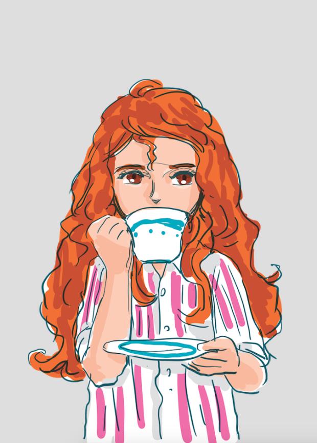 Poll-teacup